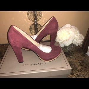 BCBGMAXAZRIA leather heels